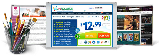 Affordable Web Design From Fb Solution Inc Professional Custom Website Design And Logo Design Start Today